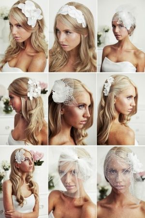 Bridal hair look