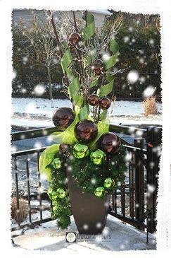 Pinterest Weihnachtsdeko Outdoor | … Deco Noel Exterieur auf Pinterest | Dezember …   – Vánoce