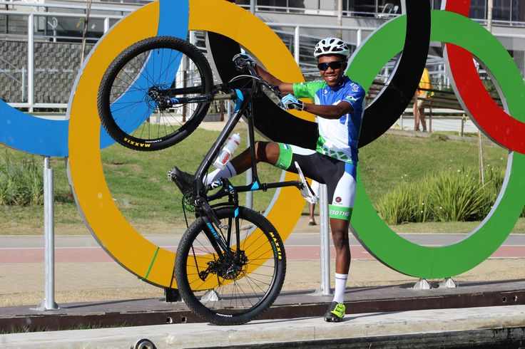 Phetetso Monese at the 2016 Summer Olympics. #cycling #pactimocustom #ridepactimo