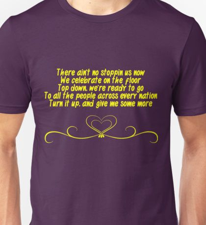 There Ain't No Stopping Us Now - Bayley NXT Unisex T-Shirt