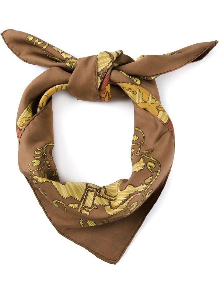 Hermès Vintage 'Hourvari' scarf