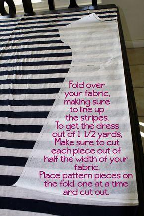 (tutorial) My Favorite T-shirt Dress.