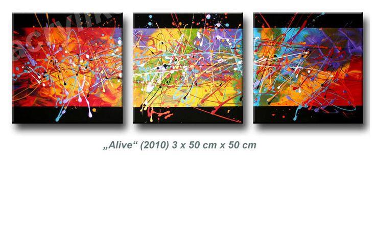 1000 bilder zu kunst auf pinterest acryln gel gro e leinwand und spachtel - Einfache acrylbilder ...
