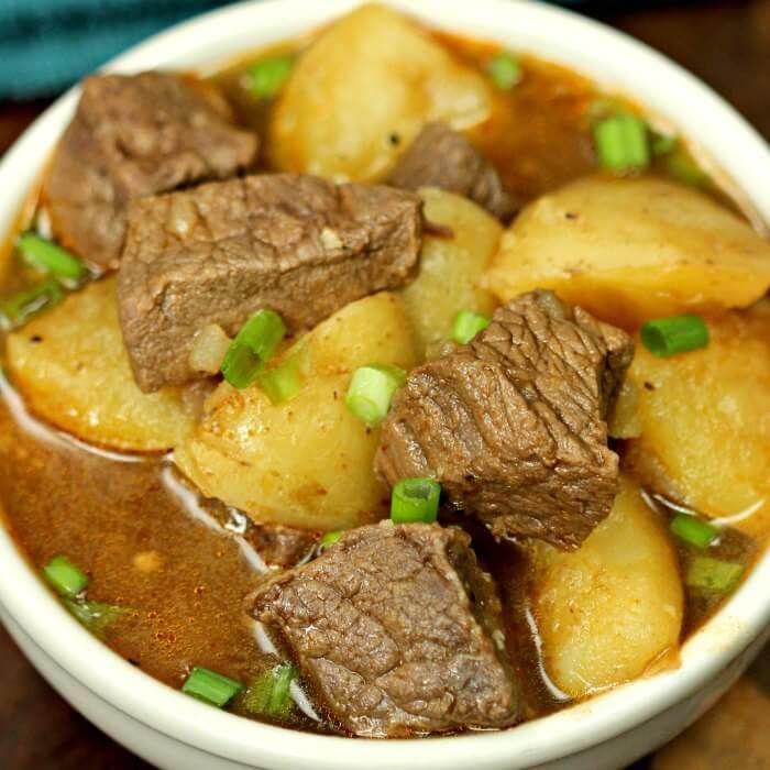 Instant Pot Steak And Potatoes Beef Stew Recipe Instant Pot Steak And Potatoes Beef Stew Recipe Is So Quick An Instant Pot Recipes Beef Stew Recipe Pot Recipes