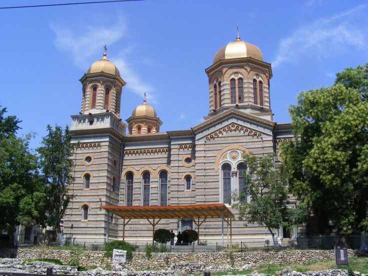St. Peter and Paul Cathedral, Constanta, Built by the architect Ion Mincu between 1883-1885,
