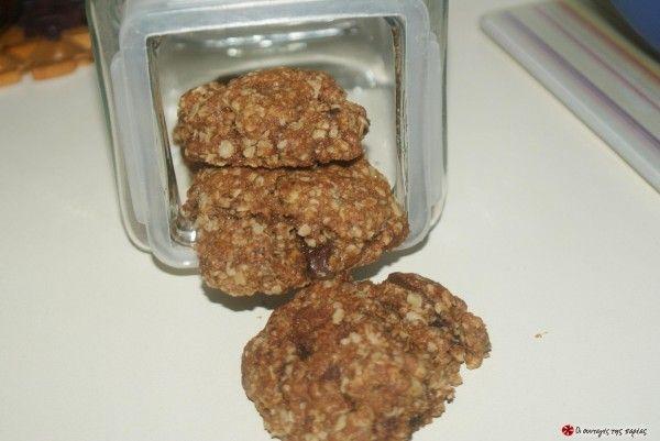 Cookies με κουάκερ. Απλή,υγιεινή απο διατροφολόγο, & υπέροχη συνταγή. #sintagespareas