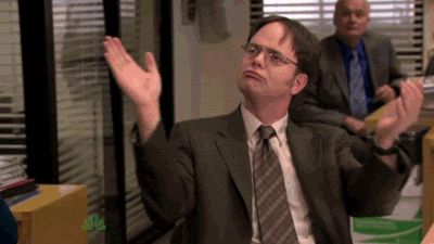 The Office's Dwight Shrute Clapping GIF