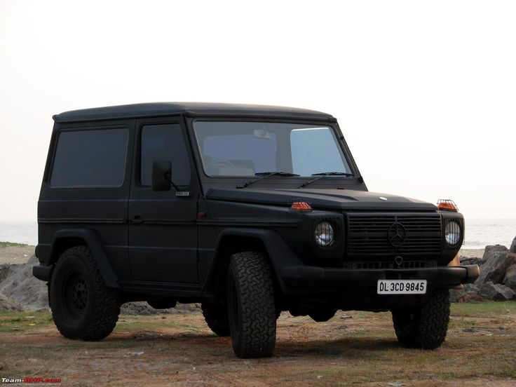 Matte black mercedes g wagon mercedes g wagon for Mercedes benz g wagon black matte