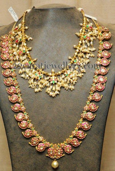 Jewellery Designs: Manga Haram without Locket