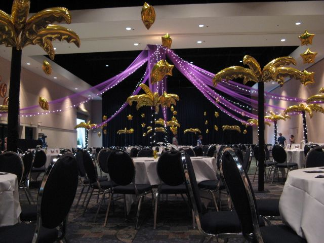 prom decorations and themes
