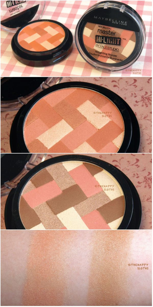 Maybelline Master Hi-Light By FaceStudio Hi-Lighting Bronzer: Review and Swatches
