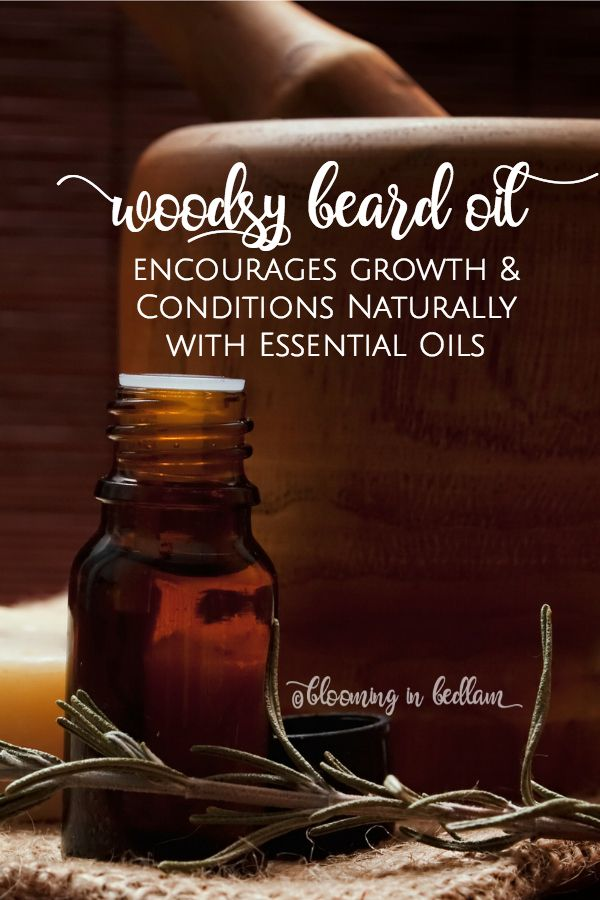 Make this Woodsy DIY Beard Oil recipe to promote growth and condition beards naturally with essential oils. This makes a great DIY gift for men because he will smell like a lumber jack and grow the best beard- Husband approved! Natural skin care and perso