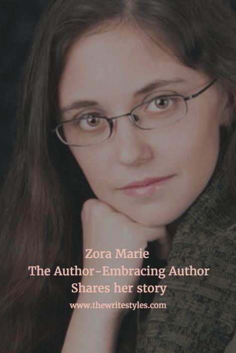 Zora Marie, The Author-Embracing Author