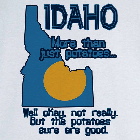 State Pride Idaho Funny Novelty T Shirt Z11727 by RogueAttire, $18.99