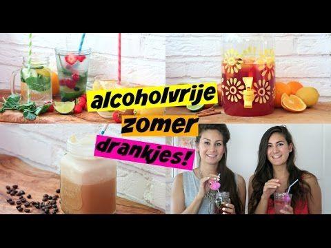 Alcoholvrije zomerdrankjes - YouTube