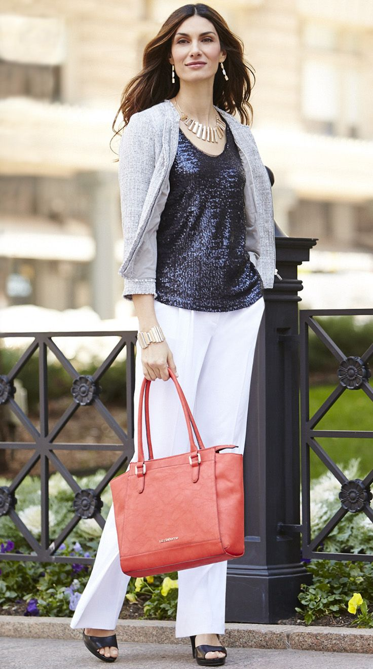 C Sf-cute top and cardigan for dressy