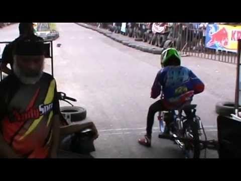 Drag Bike - Fariz Gimbes #94 Juara Tiga di Kelas Bebek 2Tak 116cc Standa...