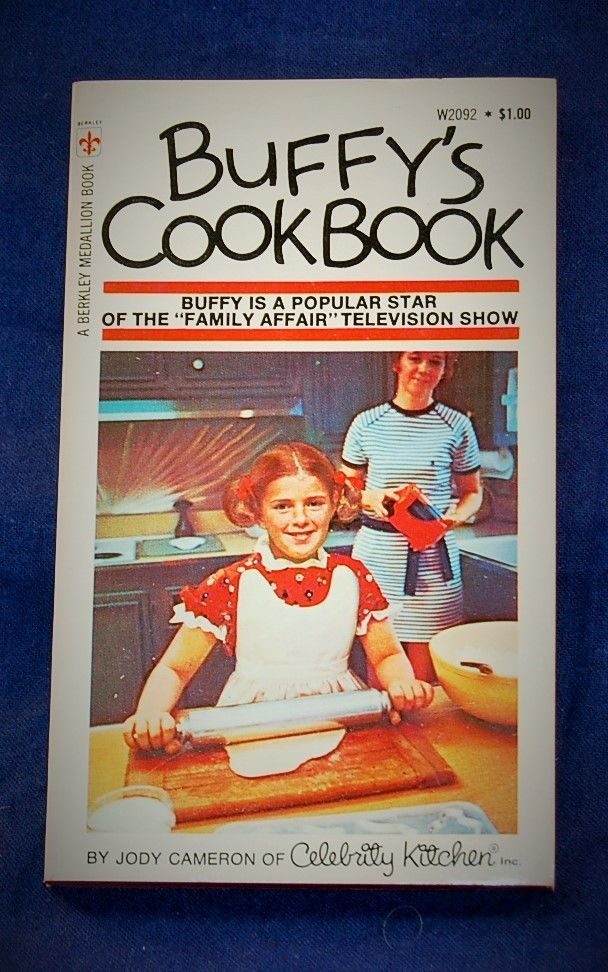 Details about Buffy's Cookbook (Celebrity Kitchen series
