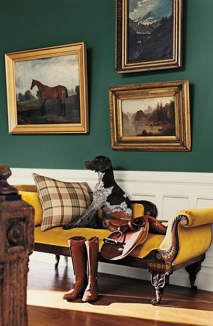 Introducing color that brings the rich heritage of Ralph Lauren to the home…