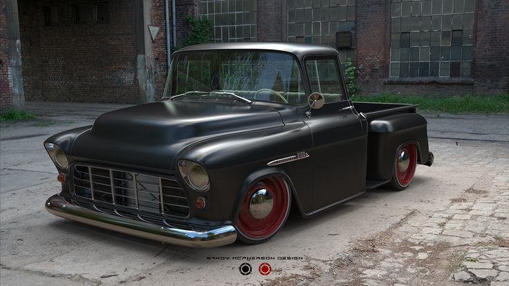 1955 Chevy 3100 Pick Up on Behance