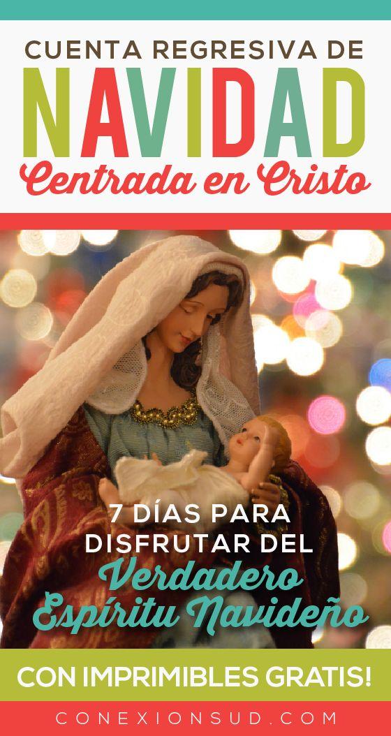 Sólo quedan 7 días para Navidad! Pero no hay problema, la cuenta regresiva para Navidad en 7 días es posible! Una Navidad centrada en Cristo.