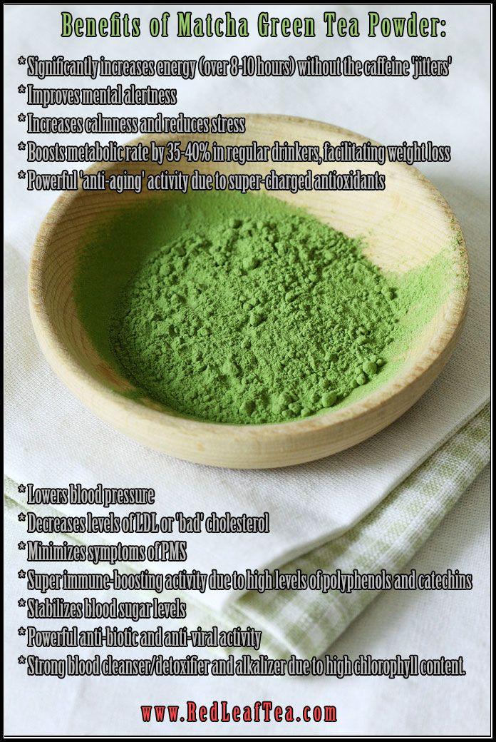 Benefits of Matcha Green Tea Powder #Matcha