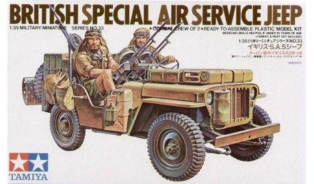 SAS Jeep with 2 Crew figures LTD Re-issue