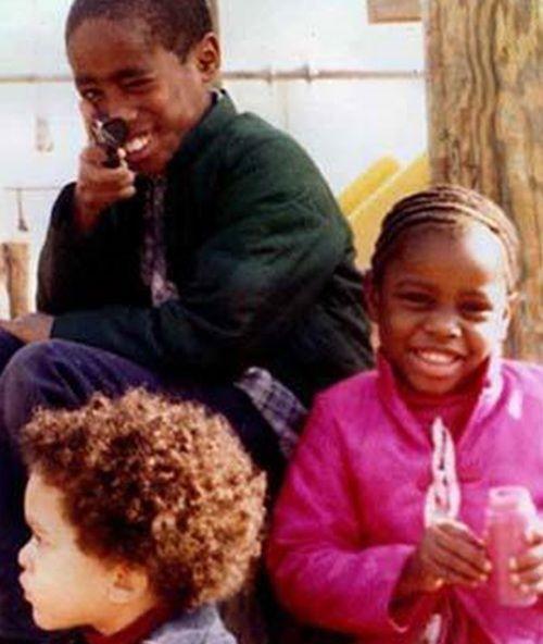 Yaki Kadafi (Yafeu Fula) & Tupac Shakur & Sekyiwa Shakur