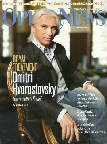 Opera News Magazine February 2012 Royal Treatment: « Library User Group