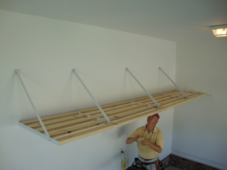 Easy-to-install Rhino Shelf garage storage systems go up fast and last a lifetime.