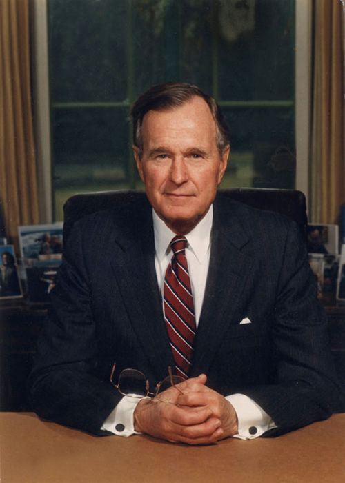 George H. W. Bush - 41st President of United States(1989-1993) 43rd Vice President of the United States Republican
