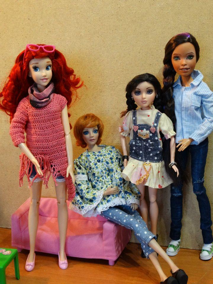 Мои большие девочки / Другие коллекционные куклы / Бэйбики. Куклы фото. Одежда для кукол
