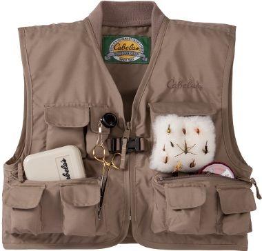 Cabela 39 s cabela 39 s youth willow creek vest instead of for Cabelas fishing vest