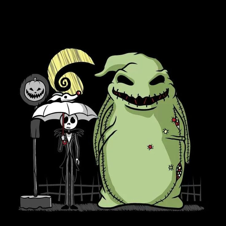 Nightmare before christmas and Totoro crossover!! GENIUS!!!