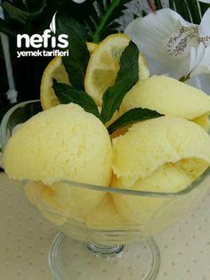 Gerçek Limonlu Dondurma