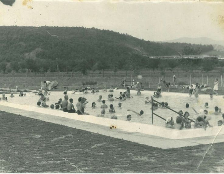1960as èvek eleje bogácsi fürdő