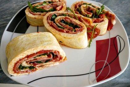 Low Carb Pizzarolle 8