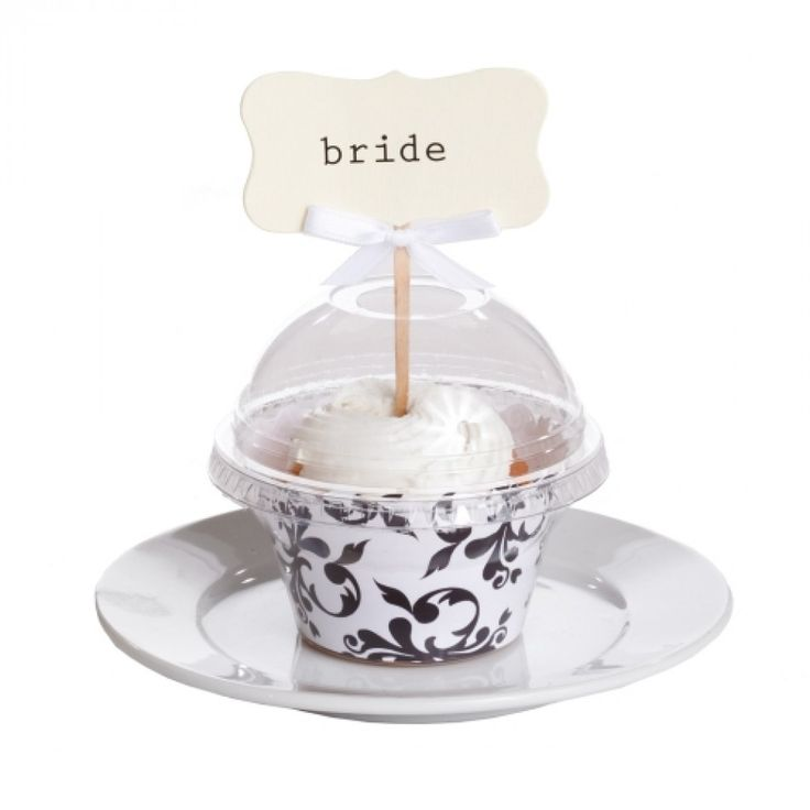 Cupcake Favor Dome Containers with Hole Lid BULK (100 pieces) [Clear Cupcake Domes - HOLE] : Wholesale Wedding Supplies, Discount Wedding Favors, Party Favors, and Bulk Event Supplies