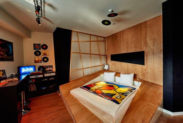 映画近未来ジャングル部屋が9つのテーマに分かれたオランダのホテル