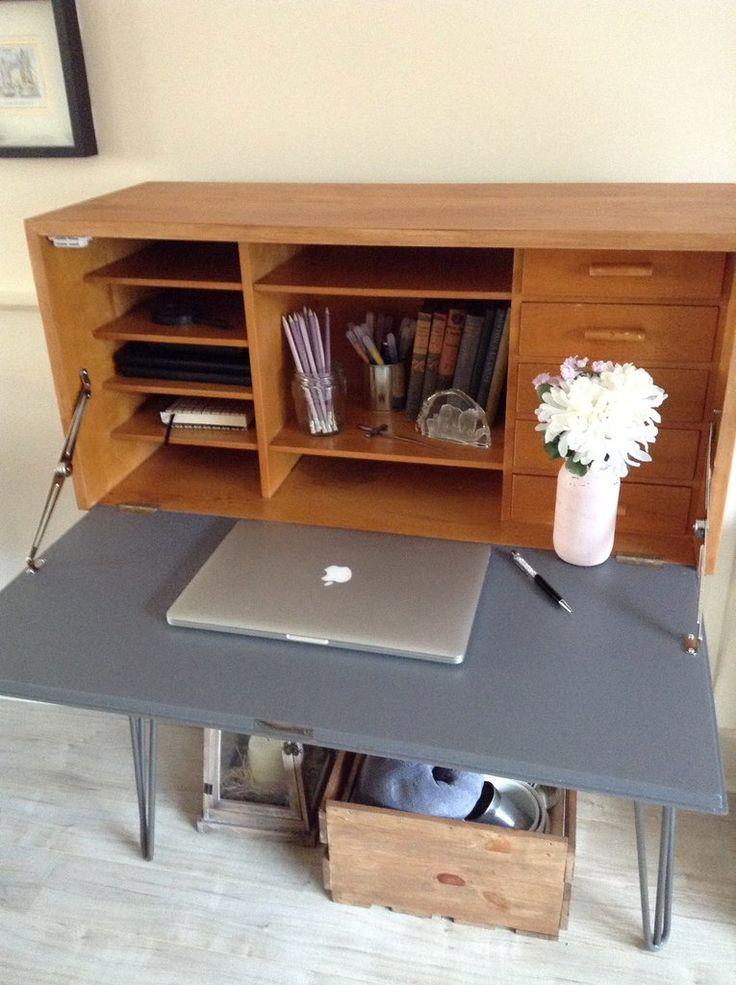 Vintage retro bureau desk – The Pallet House