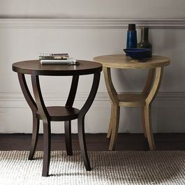 Nightstands and Bedside Tables I love the shape and openness of these but not the finish