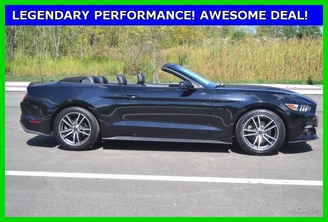 eBay: 2016 Ford Mustang EcoBoost Premium 2016 EcoBoost Premium Used Turbo 2.3L I4 16V RWD Convertible Premium #fordmustang #ford