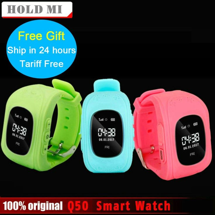 Anti Lost Q50 OLED Child GPS Tracker SOS Smart Monitoring Positioning Phone Kids GPS Watch Compatible IOS & Android VS Xiaomi //Price: $14.81//     #onlineshop