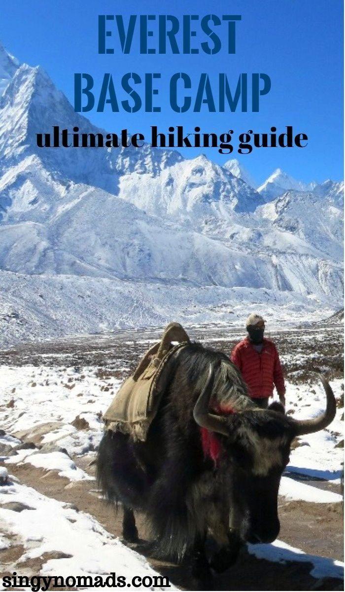 Everest Base Camp Trek Cost   Pinterest