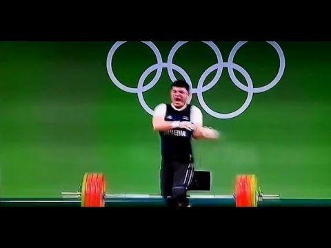 Olympia 2016 Gewichtheben Unfall