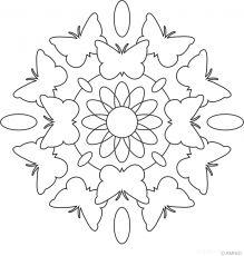 Mandala papallones