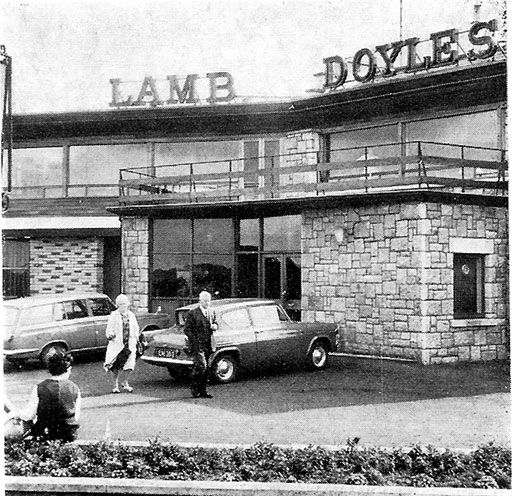 ~I remember having a tequila sunrise or several there one time.....went down so easy...then we went outside.....oops..lol Lamb Doyle's Pub, Dublin - 1969