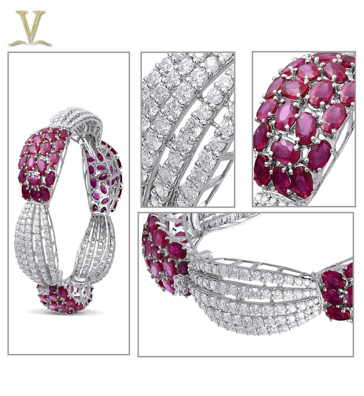 Radiant rubies mingle with the world's most brilliant diamonds.