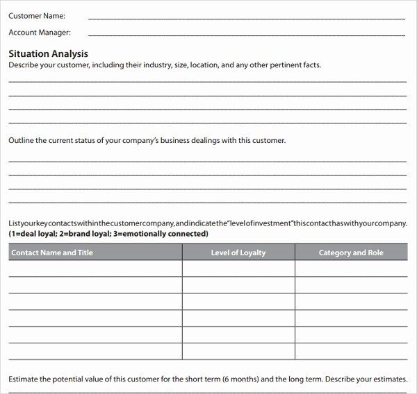 Account Plan Template from i.pinimg.com