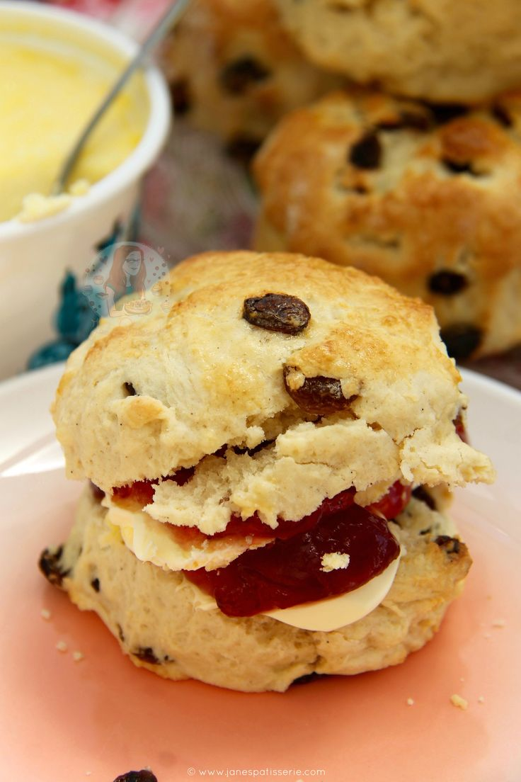 Delicious, Light, and Buttery Fruit Scones that are perfect for Afternoon Tea – Serve with Jam & Clotted Cream for a Classic Treat! I love...